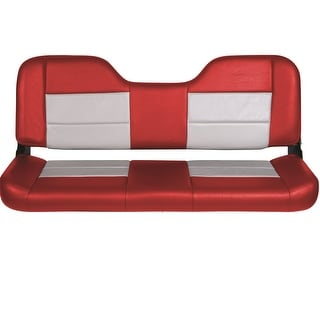 Tempress 48in Folding Bench Seat - Red/Gray 54847