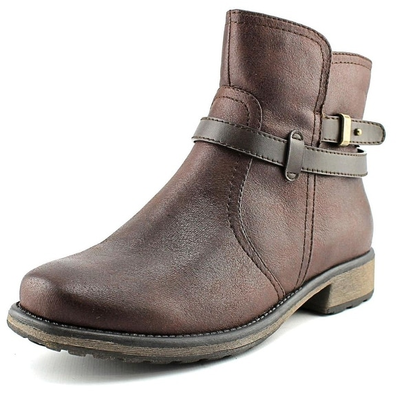 Baretraps Saint Women Round Toe Synthetic Brown Ankle Boot