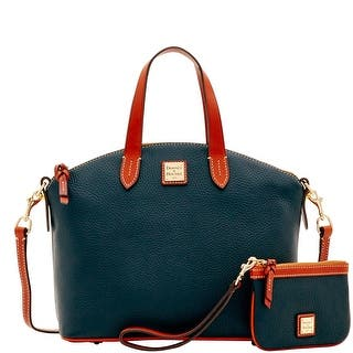 Dooney Bourke Pebble Grain Satchel Medium Wristlet Introduced By At
