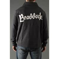 Roots of Fight James Braddock Throwback Button-Front Cardigan Jacket - Black