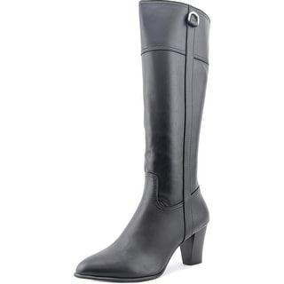 Alfani Carcha Women Round Toe Synthetic Black Knee High Boot