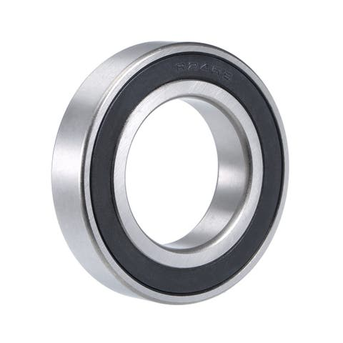 "R24-2RS Deep Groove Ball Bearing 1-1/2""x2-5/8""x9/16"" Sealed Chrome Bearings - 1 Pack - R24-2RS (1-1/2""x2-5/8""x9/16"")"