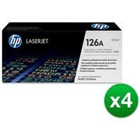 HP 126A Original Laserjet Imaging Drum (CE314A)(4-Pack)