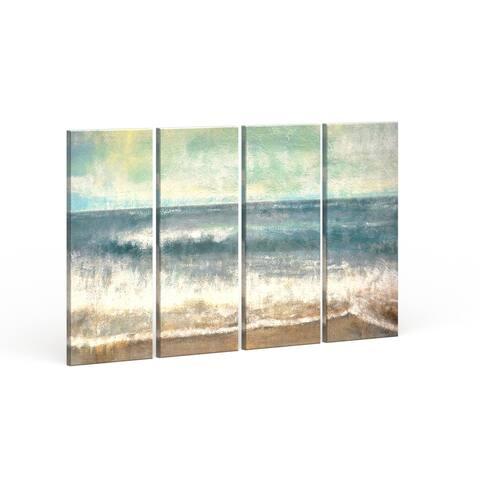 Copper Grove 'Beach Memories' by Norman Wyatt Jr. Wrapped Canvas Art