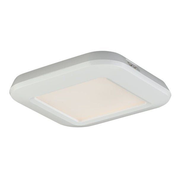 """Vaxcel Lighting X0014 Instalux� 3"""" Wide Low Profile LED Under Cabinet Puck Light - White - N/A"""