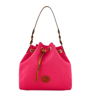 Dooney & Bourke Nylon Drawstring (Introduced by Dooney & Bourke at $139 in Mar 2012) - Hot Pink