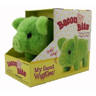 Bacon Bits Mechanical Pig - Green