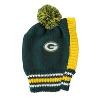 Green Bay Packers Pet Knit Hat - Small