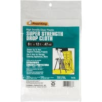 Thermwell Products Co. 9X12 Plastic Drop Cloth P470 Unit: EACH