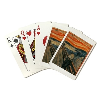 The Scream - (Artist: Edvard Munch c. 1893) - Masterpiece Classic (Playing Card Deck - 52 Card Poker Size with Jokers)