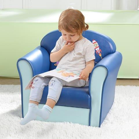 Children's Single Sofa Space Series Astronaut Model American Standard
