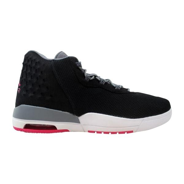 super popular e5ae4 30cad Nike Air Jordan Academy GG Black Vivid Pink-Cool Grey 854290-007 Grade