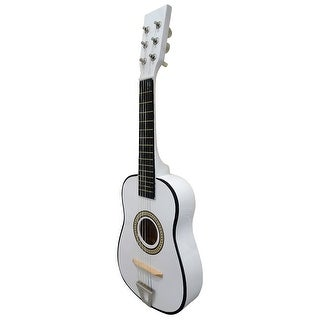 Envo Toys Acoustic Toy Guitar Musical Instrument Play Set White
