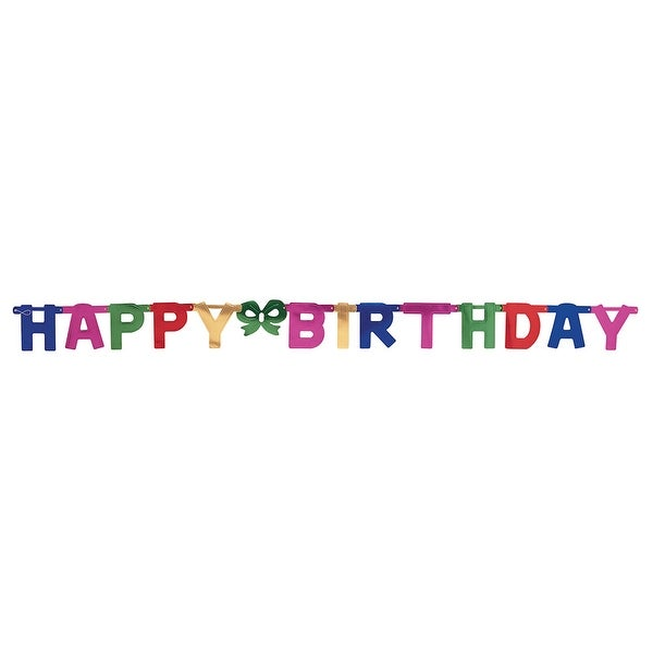 Jointed Banner Happy Birthday Jointed Banner