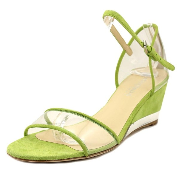Aquatalia By Marvin K Hailee Lime Sandals