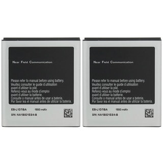 New Replacement Battery For SAMSUNG SGH-i727 AT&T (Skyrocket) Phone Model ( 2 Pack )