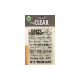 Hero Arts Poly Clear Stamp Its Your Day