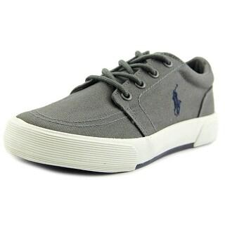 Polo Ralph Lauren Faxon II Round Toe Canvas Sneakers
