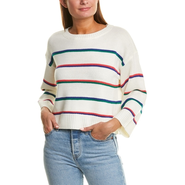 Bb Dakota Stripe Hype Sweater. Opens flyout.