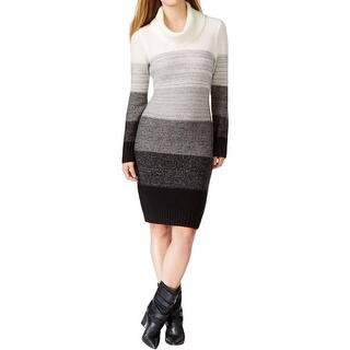 Calvin Klein Womens Sweaterdress Wool Ombre|https://ak1.ostkcdn.com/images/products/is/images/direct/14dc8163e80473871115f059e25ec80d761b5908/Calvin-Klein-Womens-Sweaterdress-Wool-Ombre.jpg?impolicy=medium
