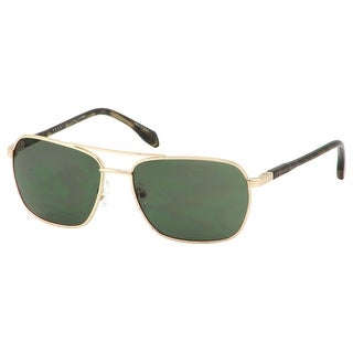 Perry Ellis Mens Metal Aviator Sunglasses Gold PE32-1, Includes Perry Ellis Pouch, 100% UV Protection