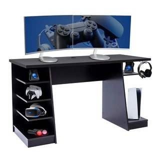 Link to Core Gaming Desk with Storage Similar Items in Desks & Computer Tables