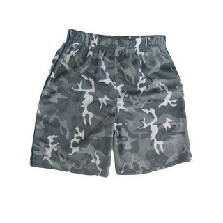 Marvels Little Boys Grey Camouflage Print Heroes Basketball Shorts 2T-4T (3 options available)