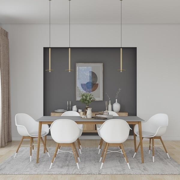 Midtown Concept Brune 7pc Wood Indoor Dining Set. Opens flyout.