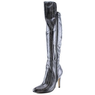 Mia Anastasia Pointed Toe Synthetic Over the Knee Boot