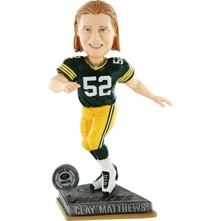 Green Bay Packers Clay Matthews #52 2015 Springy Bobblehead - Multi