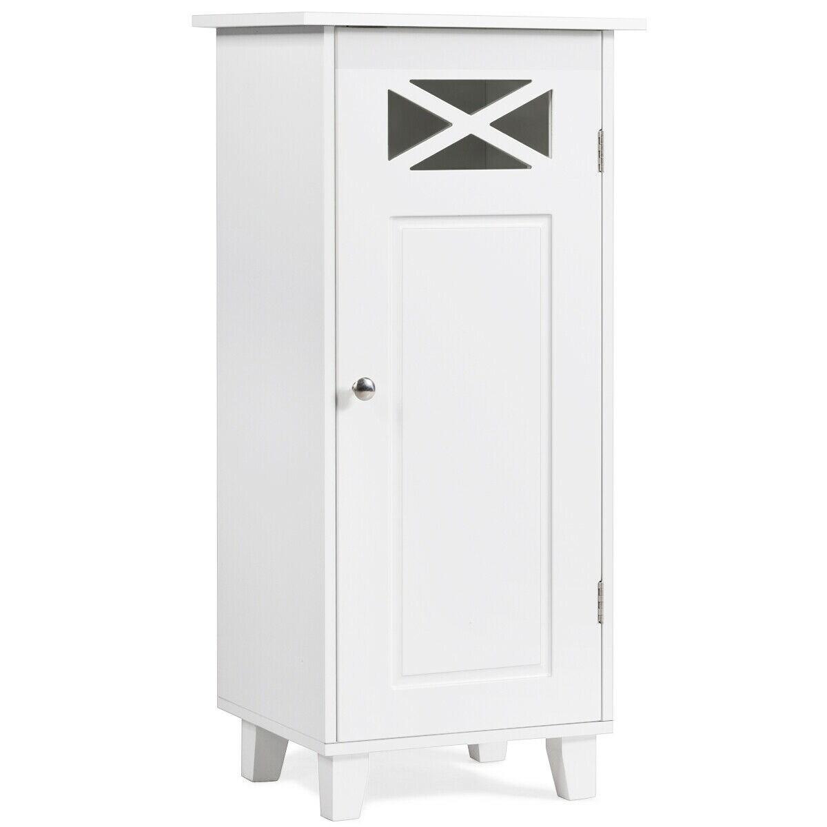 Gymax Bathroom Cabinet