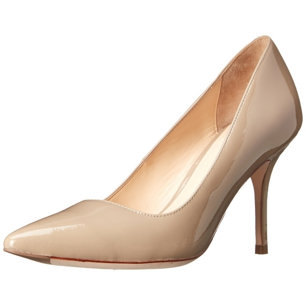 Cole Haan NEW Beige Shoes 10C Pumps Classics Patent Leather Heels