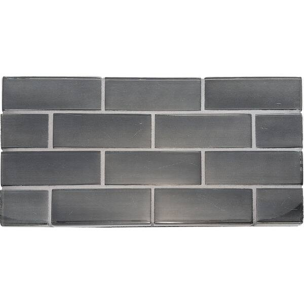 Solistone 90 Mrbrgl Mardi Gras Glass Rectangle Mosaic Tile Polished Overstock 28317150