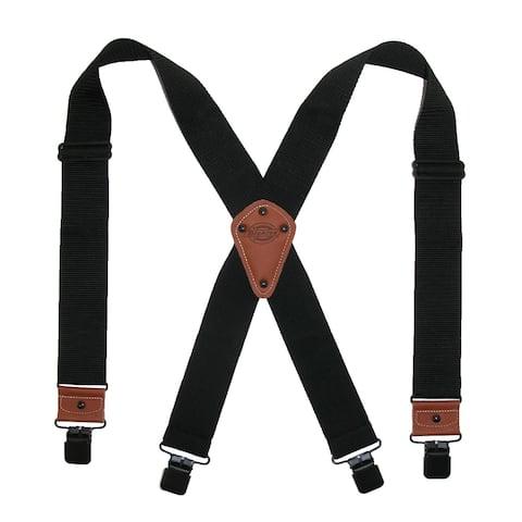 Dickies Men's Industrial Strength Ballistic Nylon Clip End Work Suspenders
