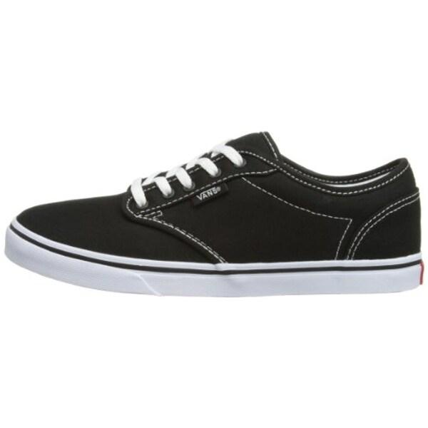 Shop Vans Women's Atwood Low (Canvas) Skate Shoe, Black