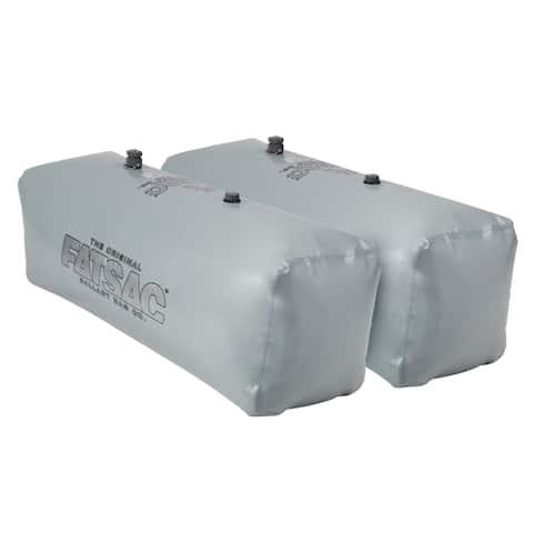 Fatsac v-drive sac (pair) - 400 pounds each - gray w701-gray