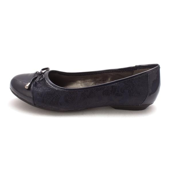 Karen Scott Womens Rylee Round Toe Loafers - 11