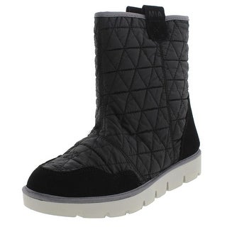 Mia Womens Telford Ankle Boots Quilted Nylon