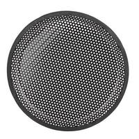 "Black 10"" Round Metal Mesh Vehicle Speaker Component Sub Box Grill Cover"