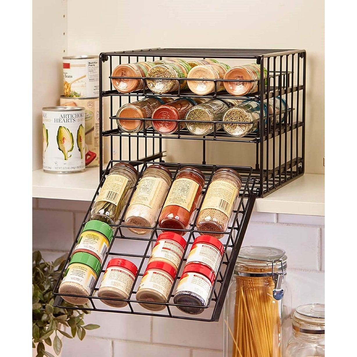Bottle E Rack Pantry Cabinet