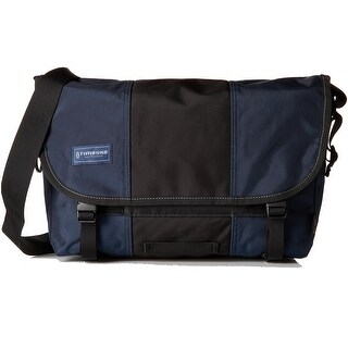 TIMBUK2 NEW Dusk Blue Black One Size Adjustable Cordura Messenger Bag
