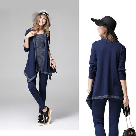 What A Pair Top And Cardi Combo In Plus Sizes Too
