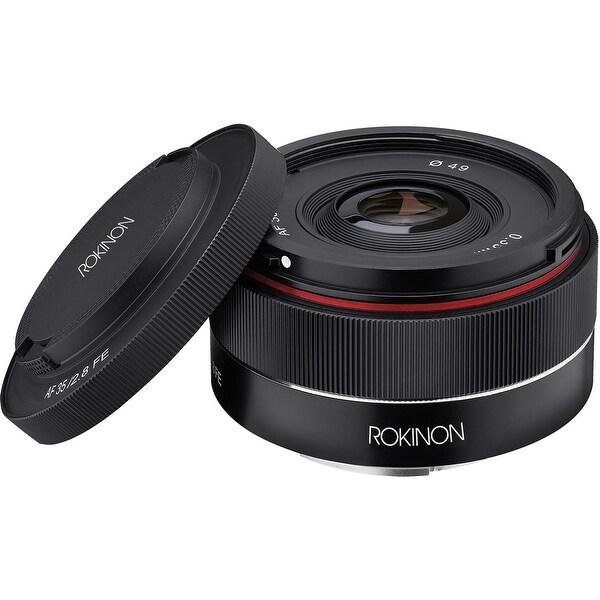 Rokinon AF 35mm f/2.8 FE Lens for Sony E - black