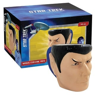 Star Trek Spock 20oz Molded Mug