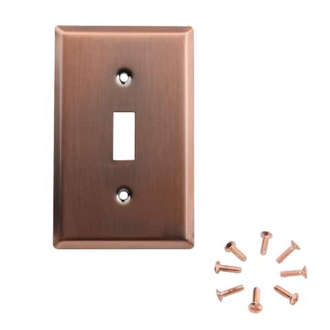 Wall Switch Plate Cover, UL Listed