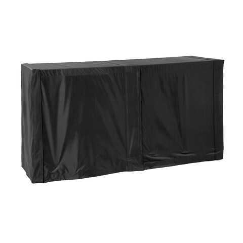 NewAge Products Outdoor Kitchen Black Bar Cart Cover