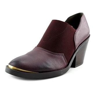 Naya Acre Women Round Toe Leather Bootie
