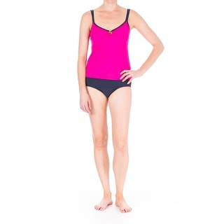 Mainstream Womens O-Ring Full Coverage Tankini Swimsuit