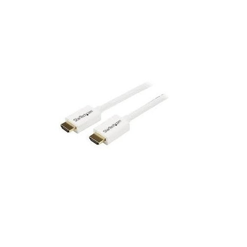 Startech - Hd3mm5mw 16Ft High Speed Hdmi To Hdminin Wall Cl3 Rated Cable White