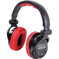 Professional Headphones from World Famous DJ Chris Garcia - Red